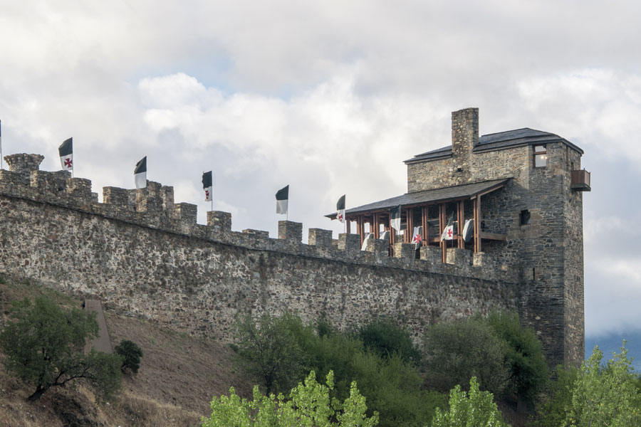 Torre de Moclín, levantada sobre estructuras de cimentación templaria del siglo XII