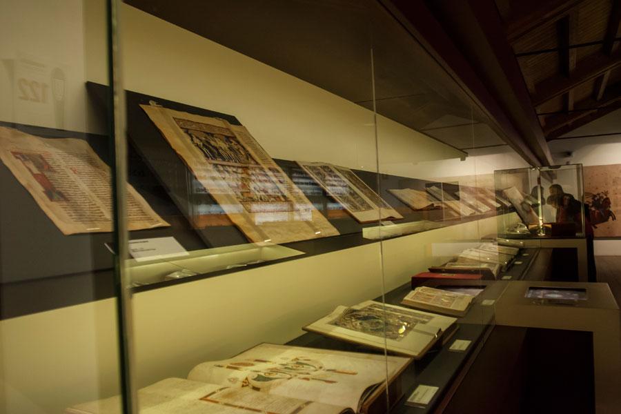 Exposición Templum Libri en el Palacio Nuevo