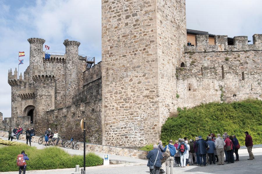 Rampa de acceso al Castillo de los Templarios