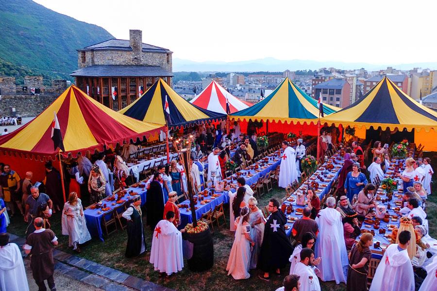 Los asistentes a la Cena Templaria deben acudir ataviados con trajes típicos de la época