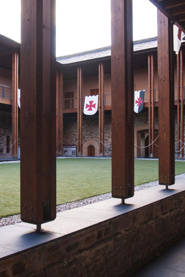 Patio interior del Palacio Nuevo