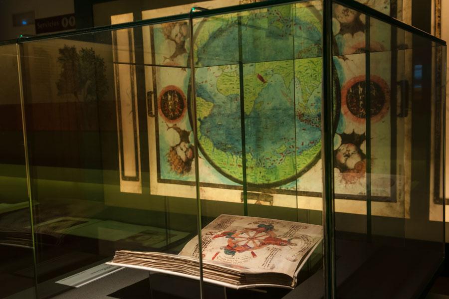 Sala segunda Templum Libri. Ciencias y Humanidades
