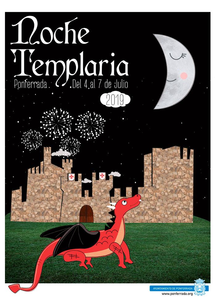 Cartel Noche Templaria 2019