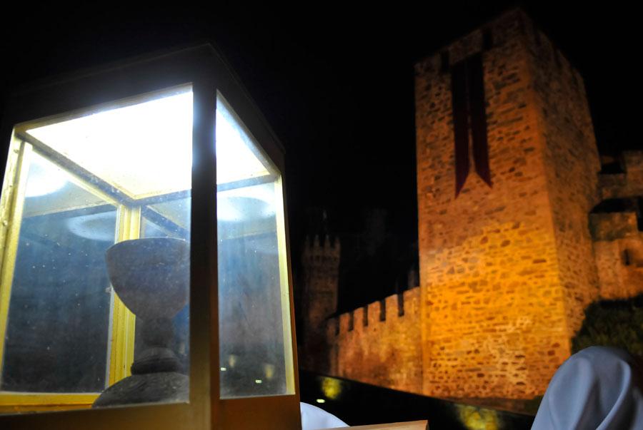 El Grial durante la Noche Templaria