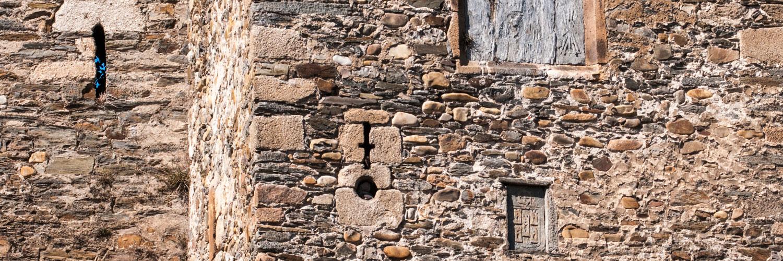 Escudos e inscripciones Castillo de los Templarios