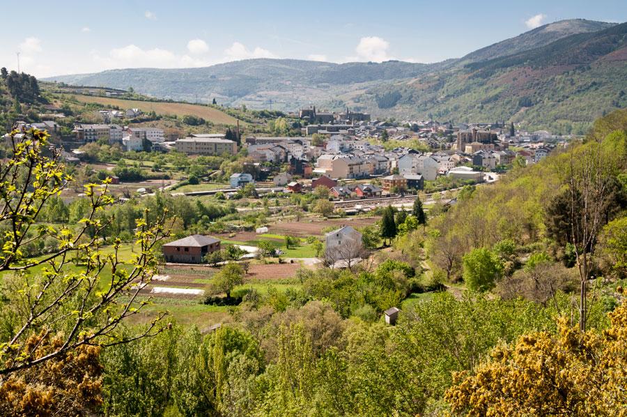 Vista general de Villafranca del Bierzo