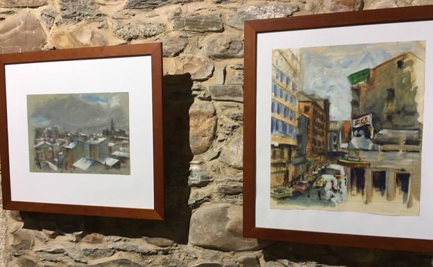 Exposición Ángel Ruíz Museo del Bierzo