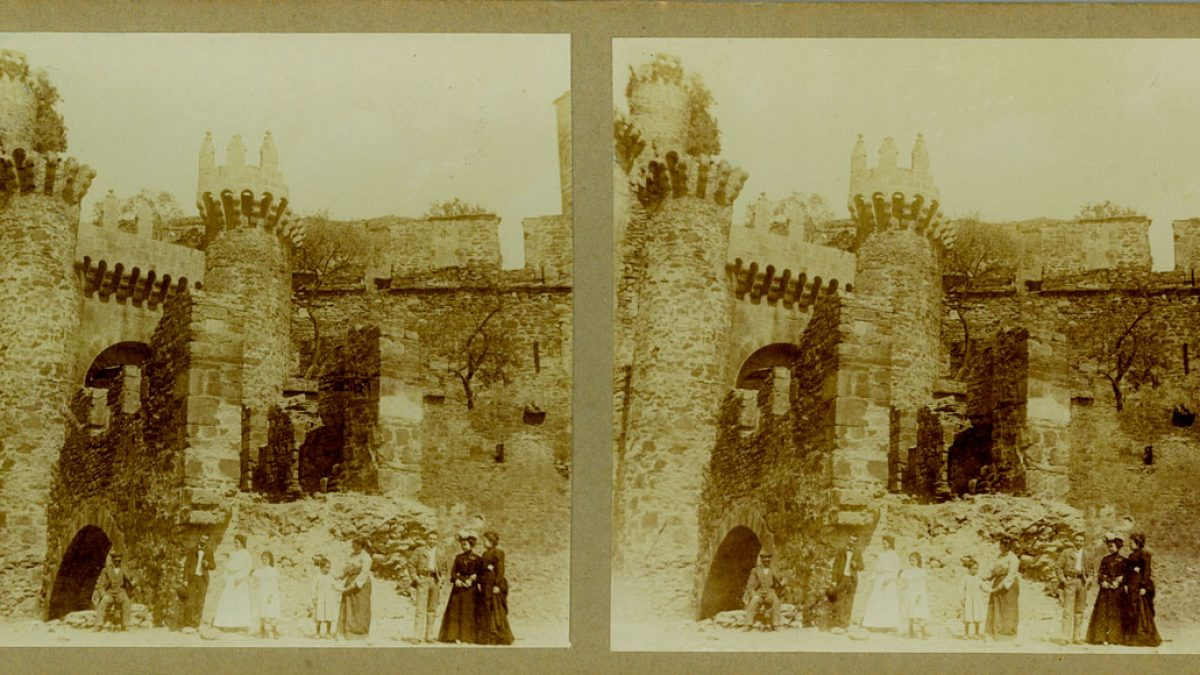 Fotografías inéditas Castillo de los Templarios