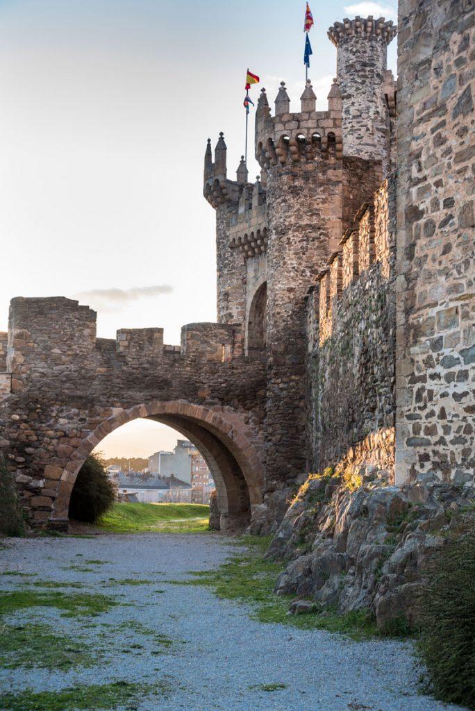 Puente levadizo Castillo de Ponferrada
