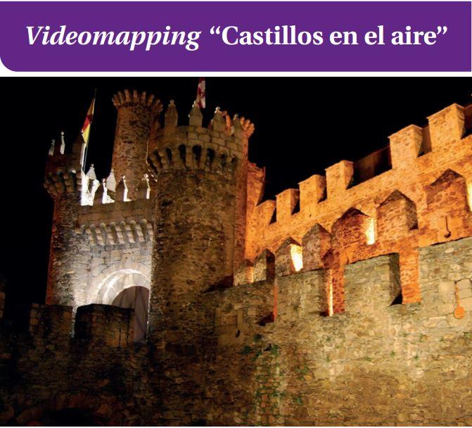 """Videomapping """"Castillos en el aire"""""""